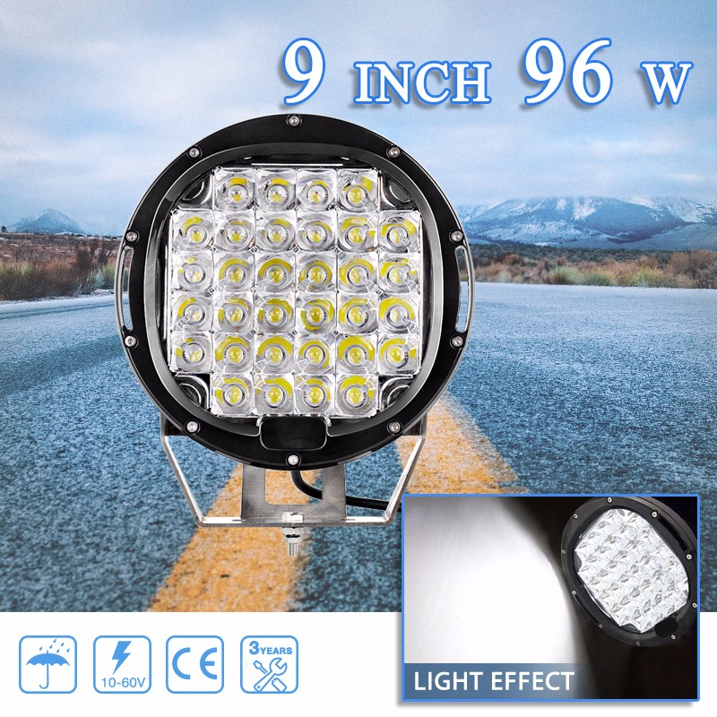 Best selling items 6000k work light led 6.5inch 5.5inch offroad