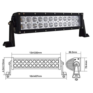 Led light bar 50 inch 4d 6 price