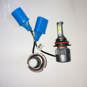 led headlight auto led lighting system9007 adapter